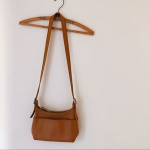 Vintage Coach crossbody purse bag brown small